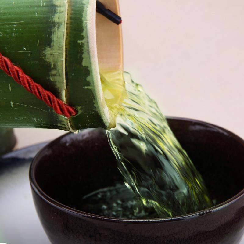 竹筒酒原生态竹酒 鲜活竹子酒浓香型52度特价青竹桶酒白酒送礼