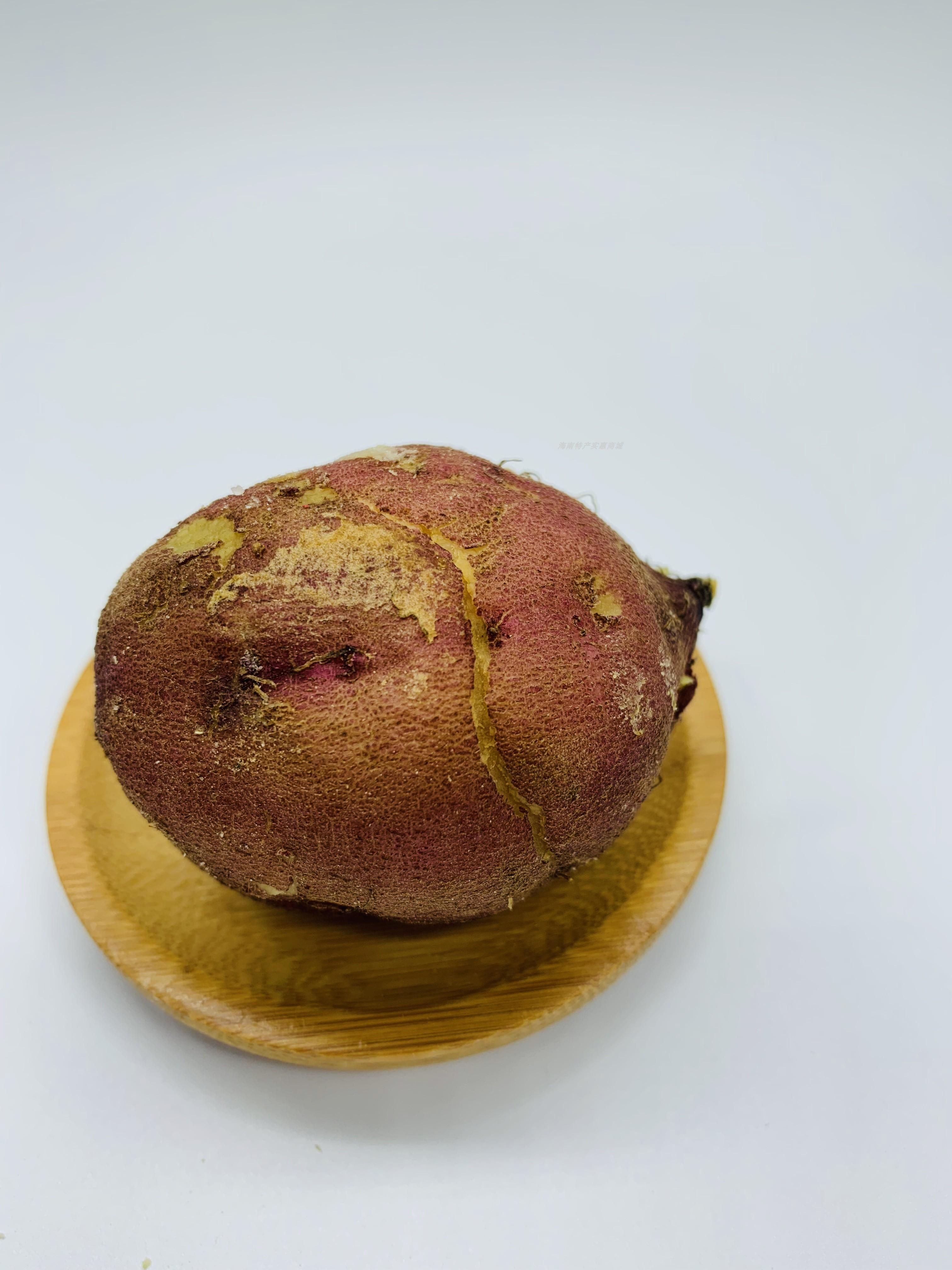 圆果海南澄迈沙地桥头富硒地瓜5斤新鲜农家桥沙板栗薯红薯包邮