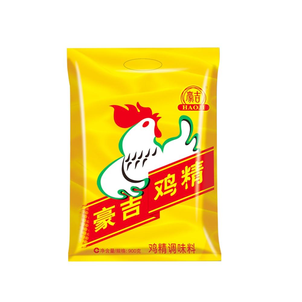 豪吉鸡精900g调味品调味料替代味精三鲜鸡精家用厨房专用调料火锅