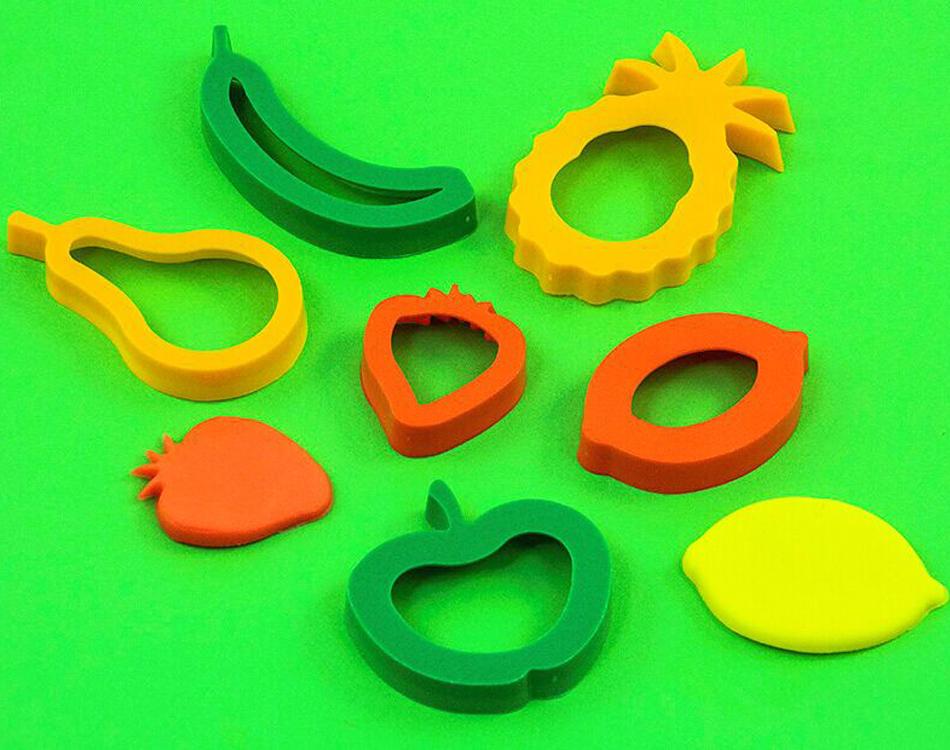 橡皮泥模具工具套装儿童手工制作diy蔬菜水果模型印