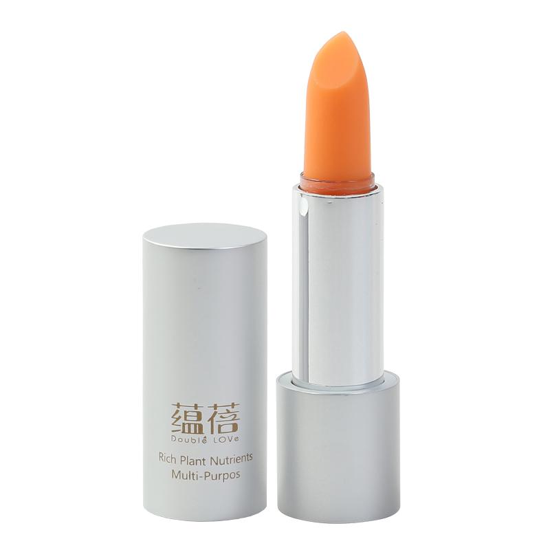蕴蓓胡萝卜素变色唇膏口红植物滋润保湿持久不脱掉色纯孕妇可专用