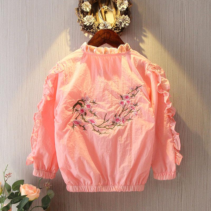 女童防晒衣2018新款韩版夏季防紫外线薄外套夏装儿童洋气防晒服潮