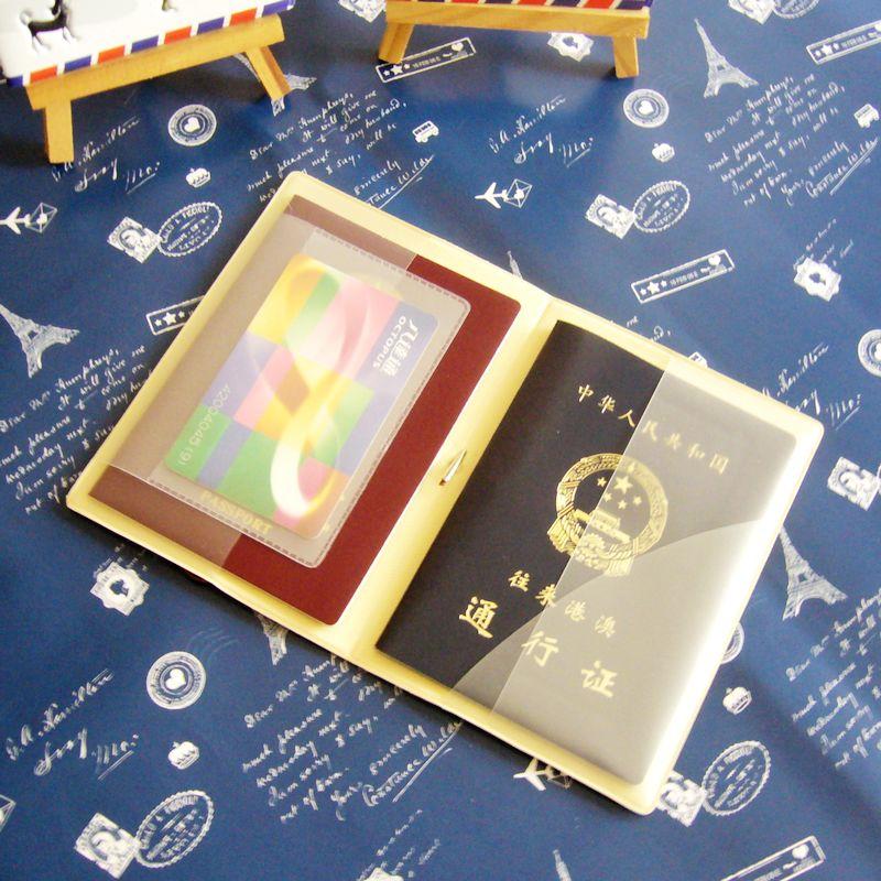 3件包邮 韩国卡通护照套可爱护照夹机票证件保护套收纳护照包图片