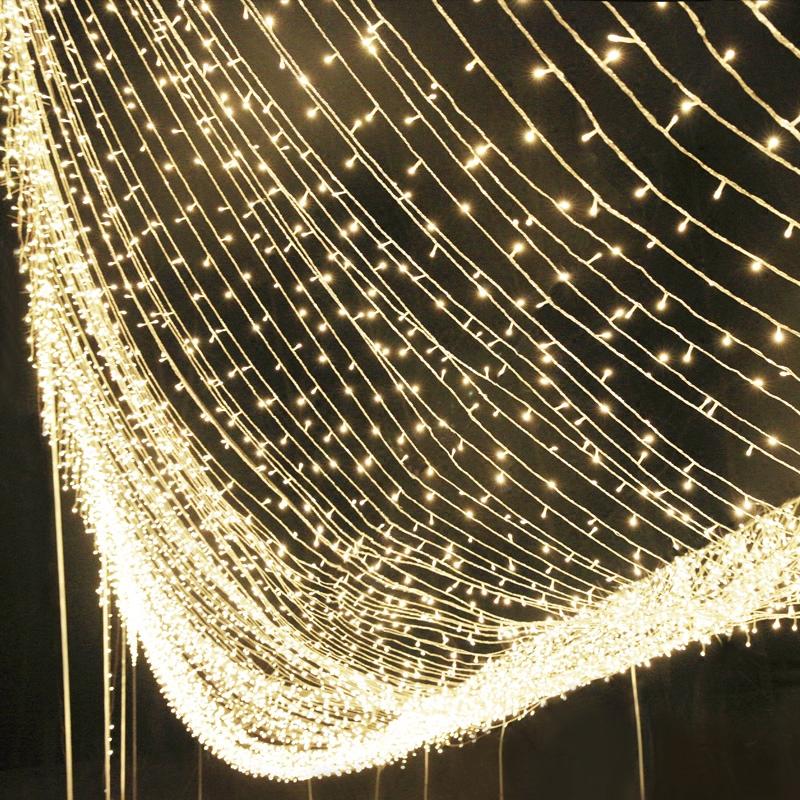 LED小彩灯闪灯串灯满天星网红房间新年过年装饰灯星星灯防水灯串