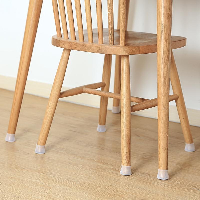 硅胶椅子脚垫静音凳子腿保护套木地板防滑椅脚垫家用耐磨桌椅脚套