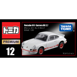 TOMY多美卡仿真合金車模旗艦跑車TP12保時捷911Carrera RS/887195