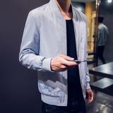男装短款夹克薄男士外套夏季防晒衣男运动服