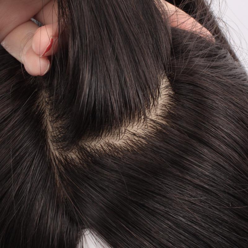 英琪假发 高端顺发辫子发递针手织假发