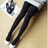 秋冬韩版加厚300D天鹅绒连裤袜显瘦不透肉
