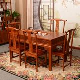 仿古实木茶桌功夫茶桌办公桌茶桌椅组合特价