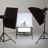 金鹰TX250 250W 双灯套装 摄影灯闪光灯证件