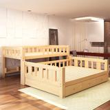 包邮实木儿童床上下床高低床母子床子母