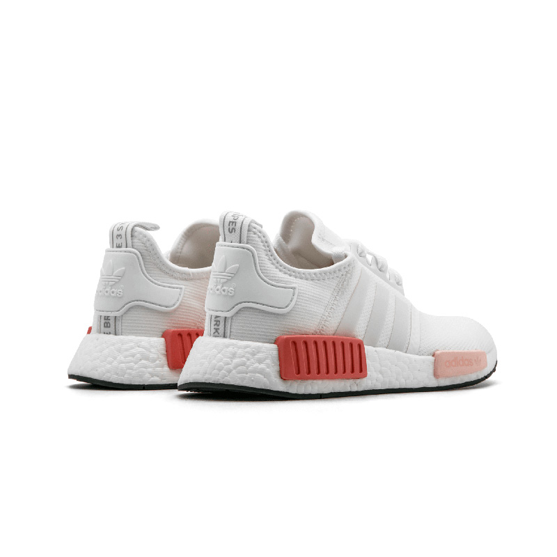 牛哄哄 Adidas NMD R1 White Rose 樱花粉 跑步鞋 BY9952