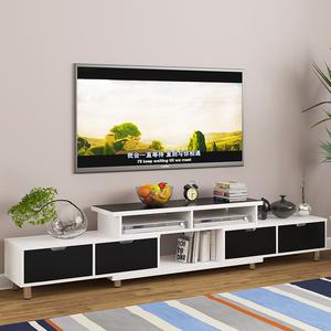 伸缩乔迁一体音箱卧房厅柜家用台式家庭家装电视柜抽屉式影视普通