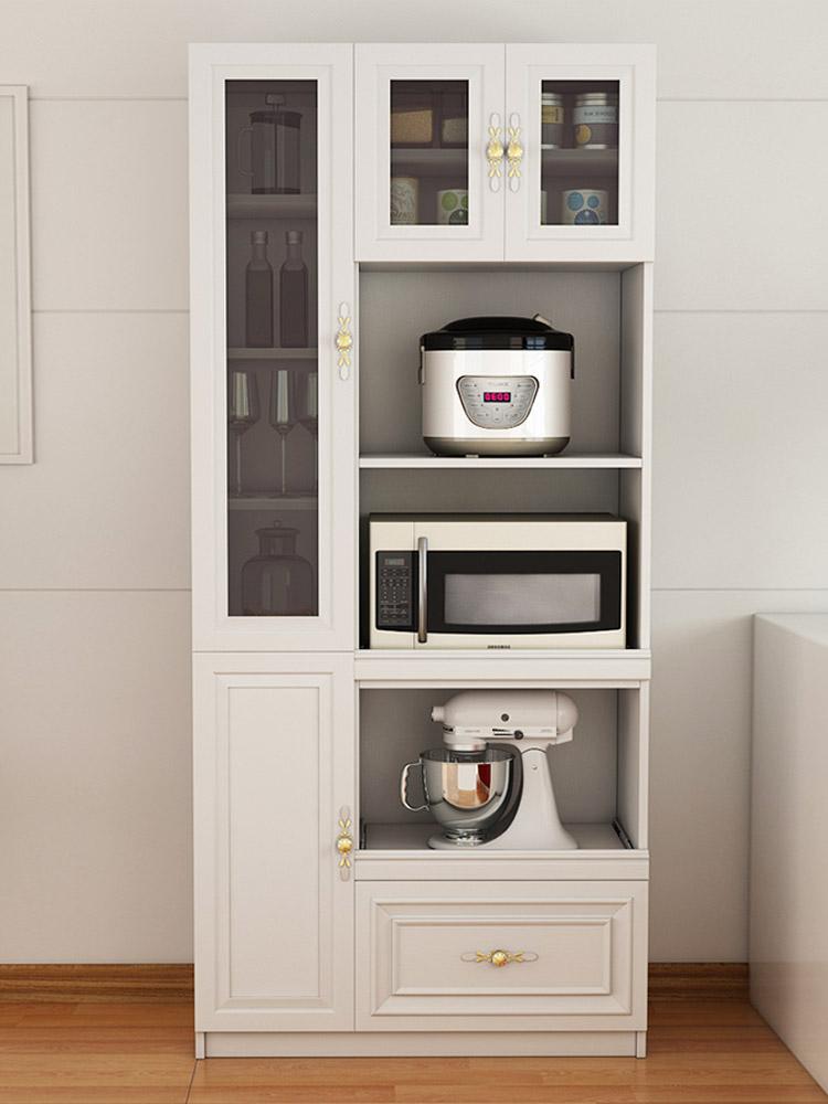 定制餐边柜简约现代 餐厅碗柜简易收纳柜 厨房微波炉柜橱柜储物柜