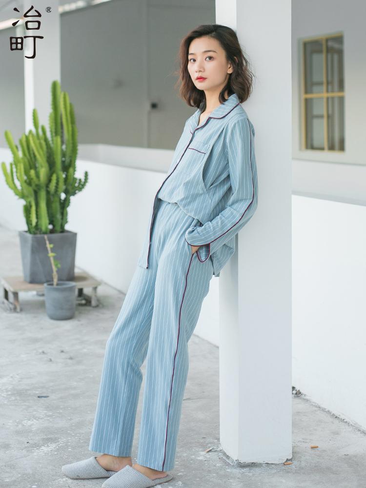 月子服夏季薄款产后大码长袖哺乳期喂奶家居服套装春秋哺乳睡衣