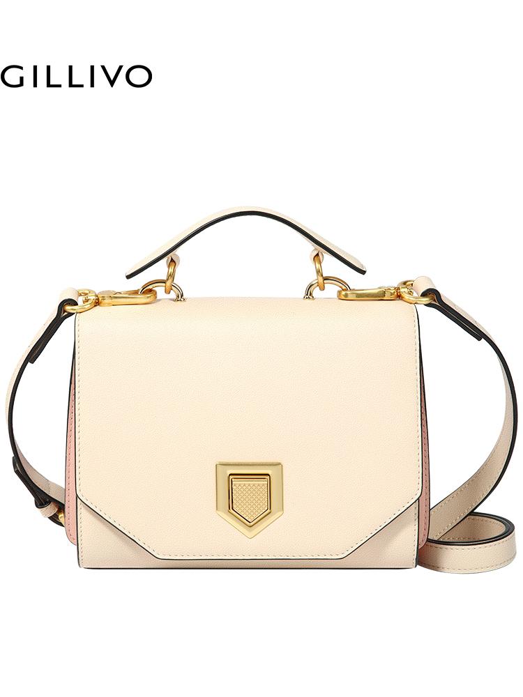 嘉里奥2018新款单肩斜挎包 商场同款手提包 欧美时尚真皮包包女包
