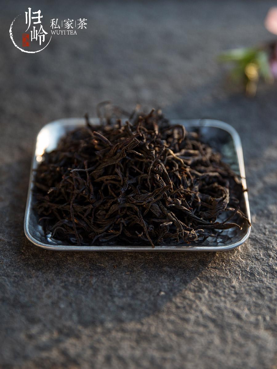 归岭正山小种红茶武夷山桐木关野生特级浓香型散装茶叶礼盒装2罐