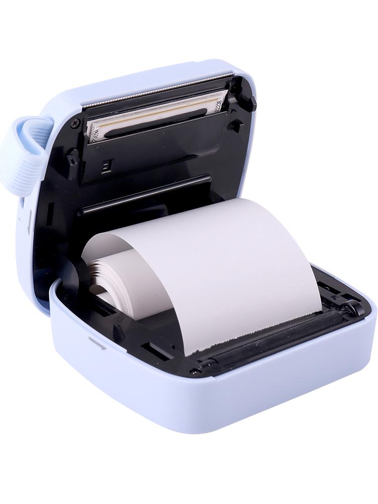 得力喵喵机X1热敏蓝牙照片打印机迷你家用口袋便携错题抖音打印机相印宝
