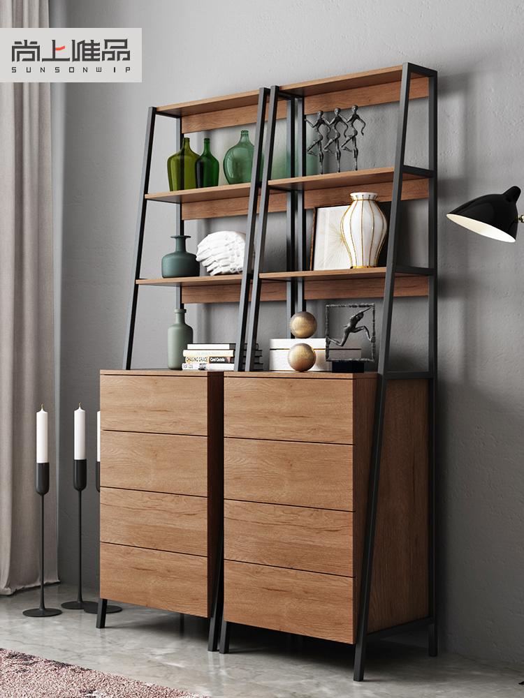 北欧斗柜现代简约储物柜抽屉式客厅边柜侧柜装饰柜多功能五斗柜橱
