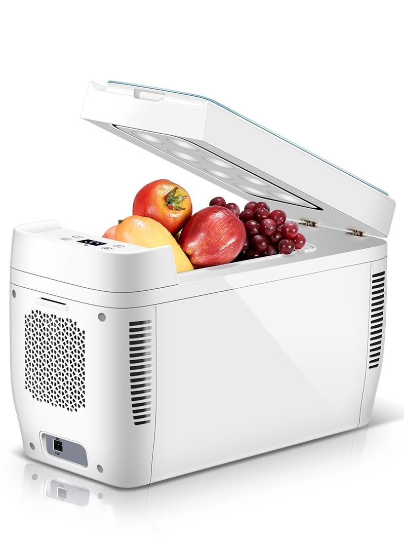 科敏11L双核车载冰箱迷你小冰箱冷冻冷藏小型家用制冷车家两用