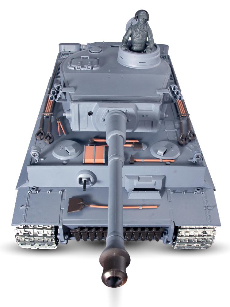 恒龙德国虎式金属遥控坦克履带式玩具越野车超大号对战模型可发射