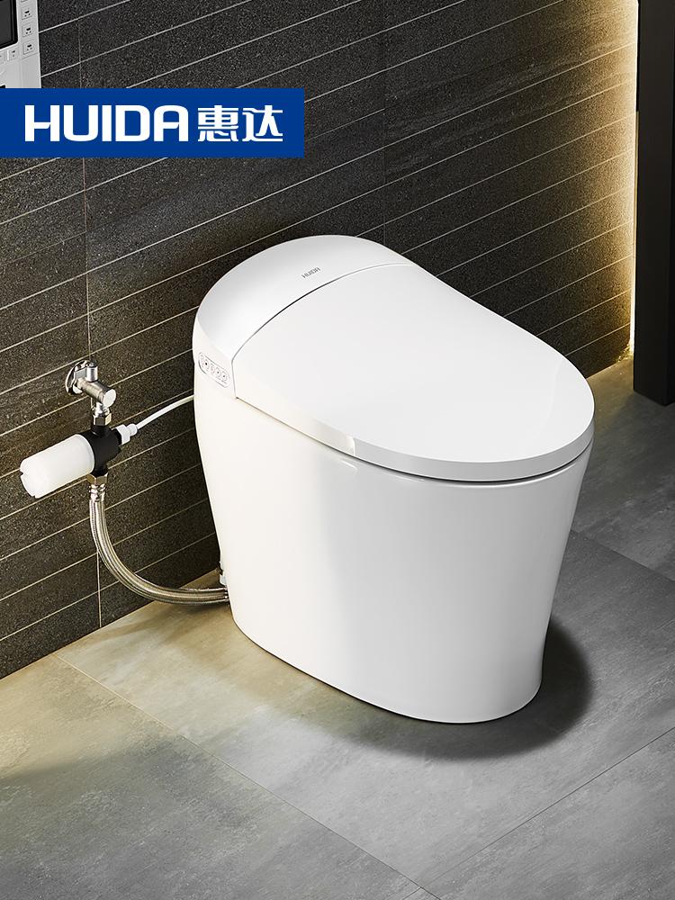 惠达卫浴智能马桶全自动一体式家用电动冲洗烘干坐便器ET1-P