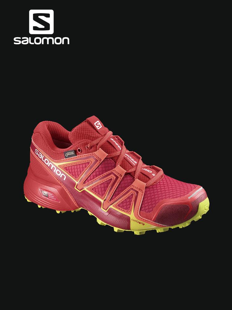 Salomon 萨洛蒙女款户外防水越野跑鞋 SPEEDCROSS VARIO 2 GTX W