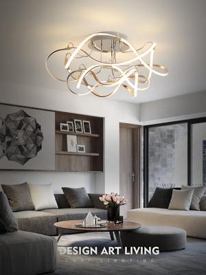 吸顶灯客厅简约现代 设计师大气艺术创意个性大厅北欧卧室灯具