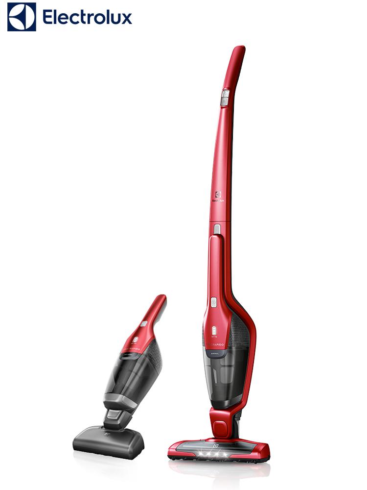 伊莱克斯无线吸尘器家用小型手持式静音大功率强力除螨ZB3320P
