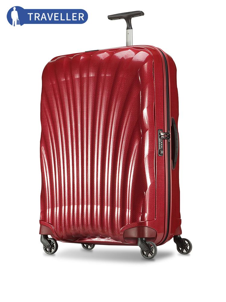 Samsonite-新秀丽拉杆箱V22 轻盈时尚贝壳箱万向轮密码行李箱28寸