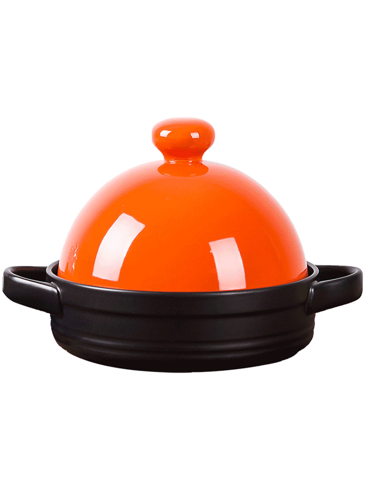 Orange leaf tower JiGuo household non - stick ceramic high - temperature bibimbap small casserole flame gas soup rice casseroles