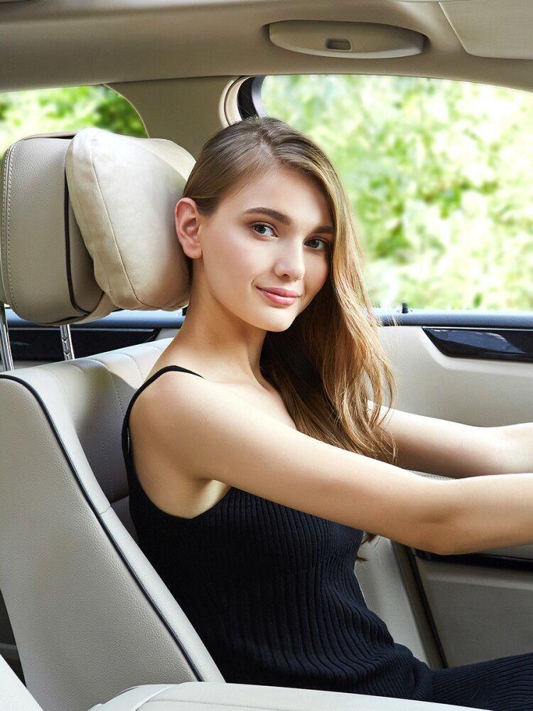 ~奔驰汽车头枕S级迈巴赫颈椎枕头车用座椅脖靠垫靠枕护颈枕一对