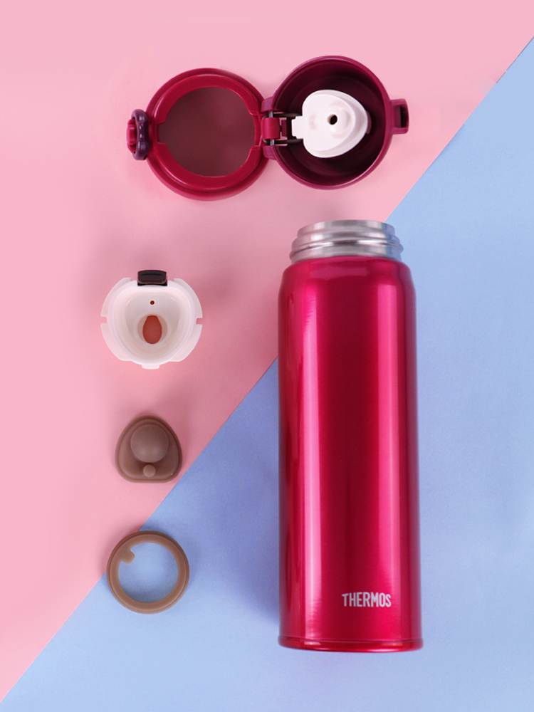 THERMOS thermos stainless steel mug student water cup large capacity 500ml portable cup JNL502
