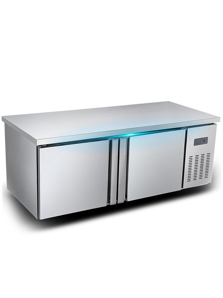 睿美冷藏工作台冷冻柜商用保鲜冰箱厨房平冷冰柜水吧台奶茶店设备