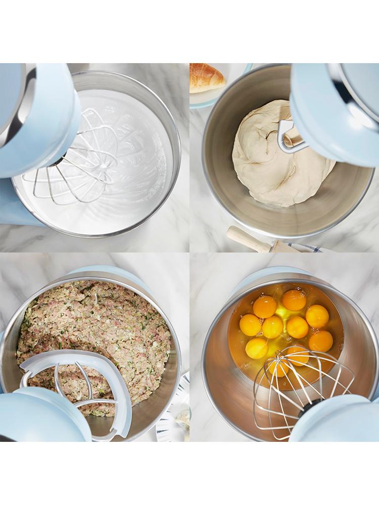 小熊厨师机家用小型和面机全自动揉面机多功能活面搅面打奶油鲜奶