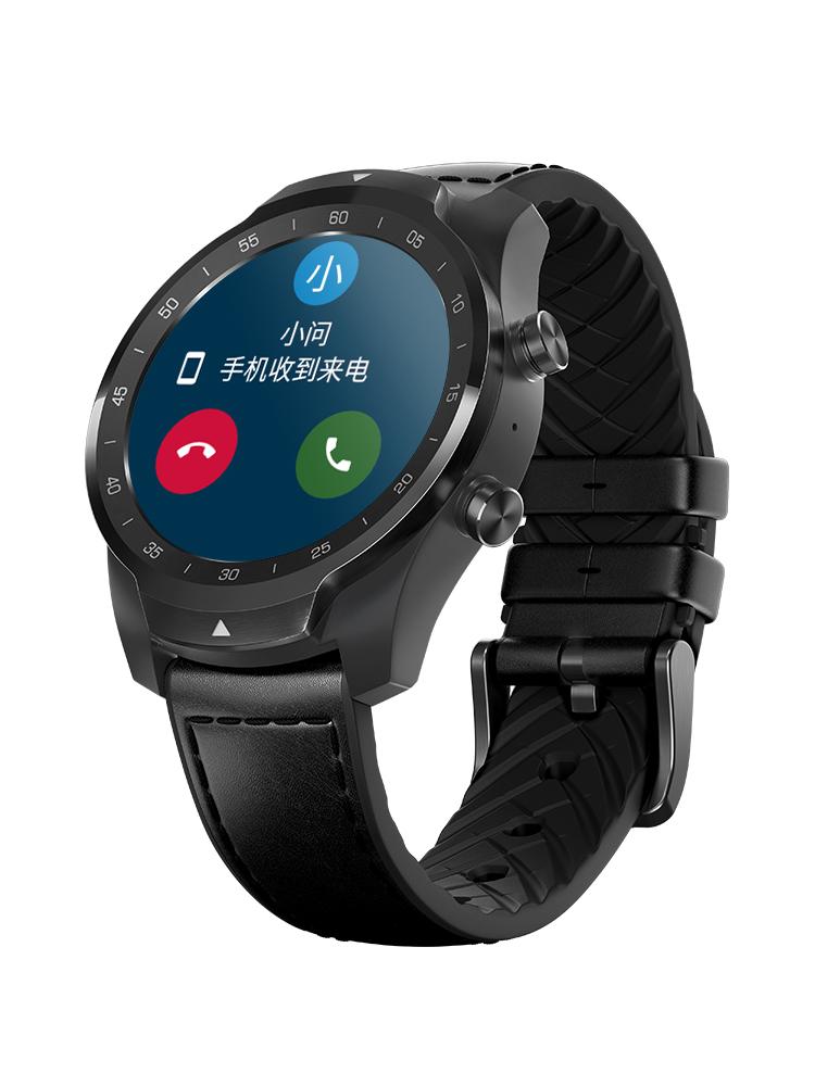 30天续航TicWatch Pro智能手表安卓谷歌电话多功能运动GPS支付ios