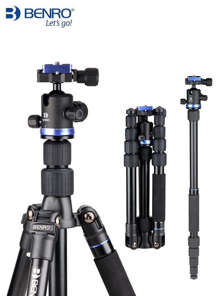 百诺三脚架if19单反照相机脚架便携户外微单摄影手机三角架支架