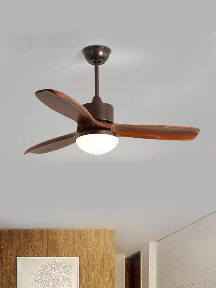 北欧风格电扇家用吊灯风扇灯客厅灯具创意简约现代餐厅北欧风吊扇