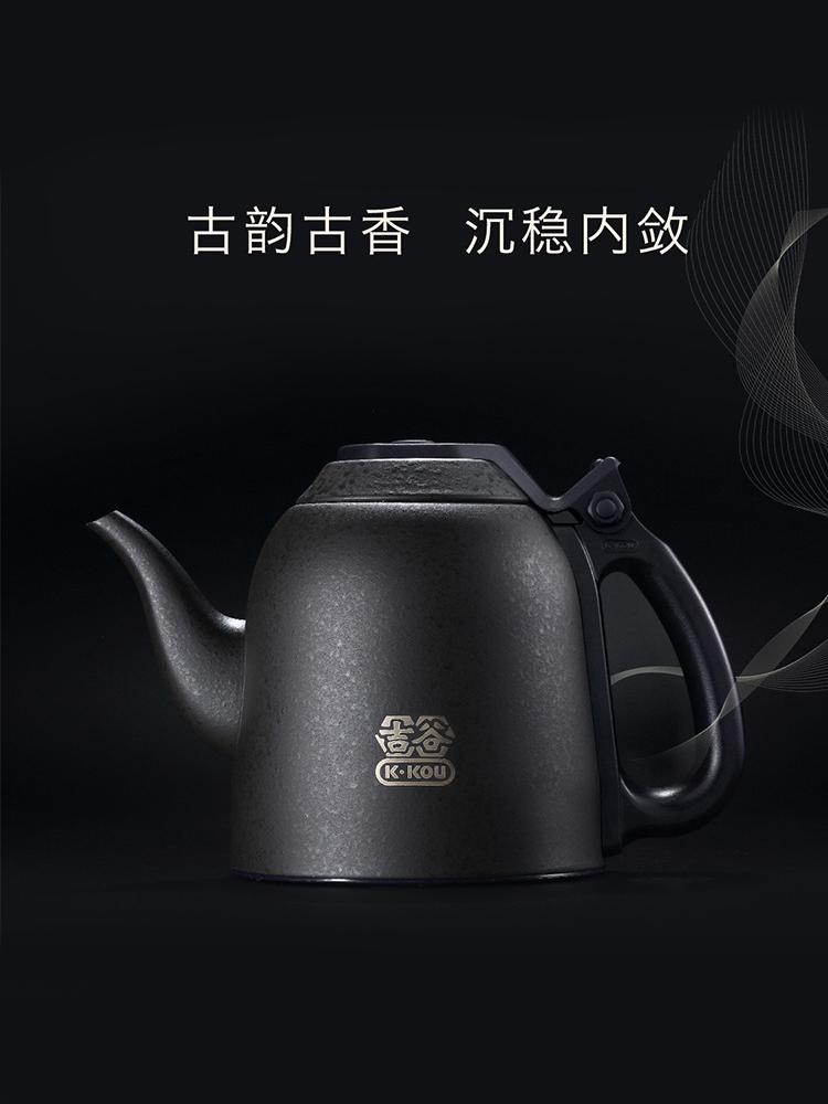 吉谷电器电热水壶TB0302变频恒温电水壶烧水壶食品级304不锈钢壶