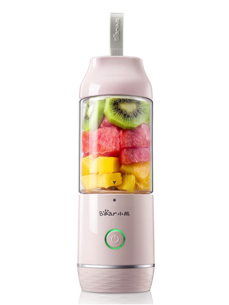 小熊榨汁机家用迷你小型果汁机全自动果蔬多功能充电便携式榨汁杯