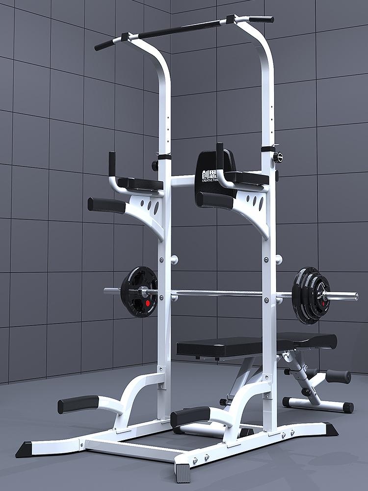 创思维 引体向上器家用单杠 多功能室内单双杠 运动健身器材家用