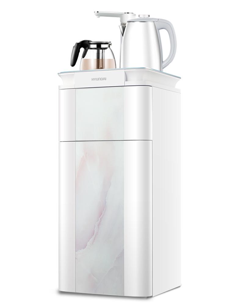 韩国现代智能立式饮水机冷热家用节能办公室全自动上水制冷茶吧机