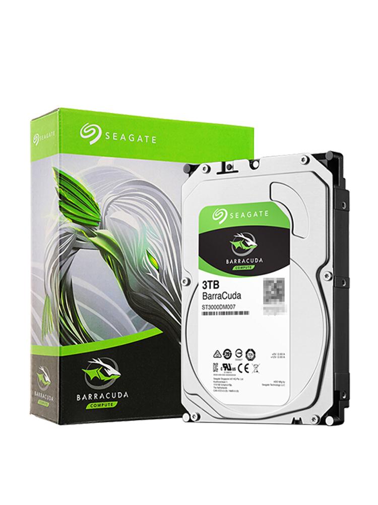 Seagate-希捷 ST3000DM007 酷鱼3T台式电脑机械硬盘3tdm008升级