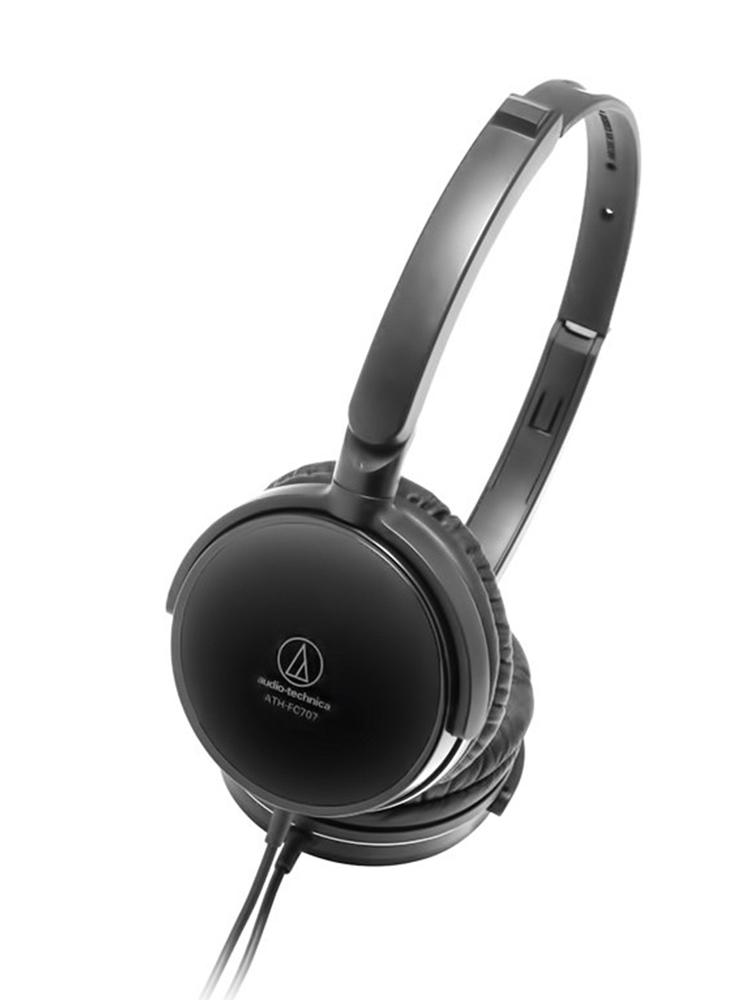 Audio Technica-铁三角 FC707 头戴式耳机便携折叠手机音乐耳机