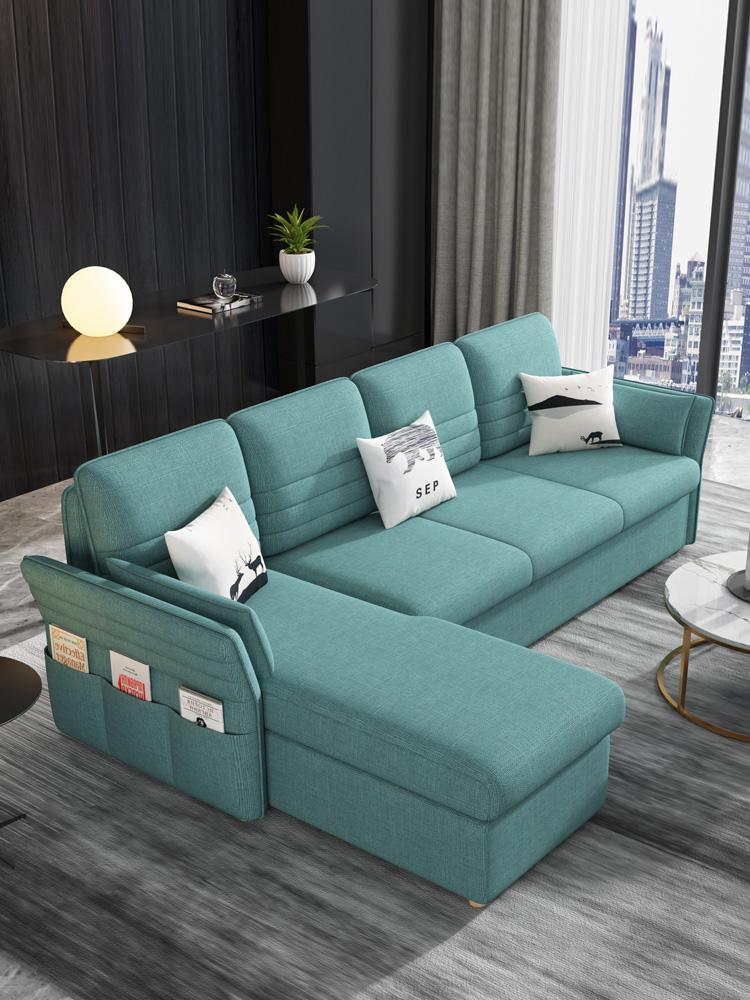 多功能沙发床可折叠双人客厅小户型两用简约现代组合沙发可变床