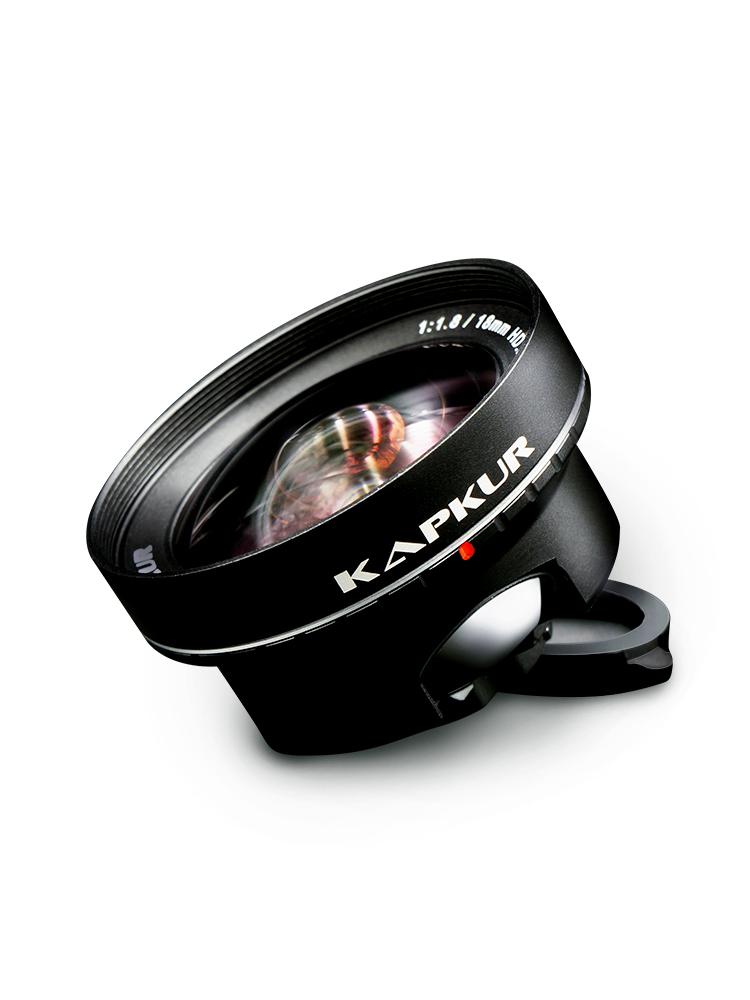大眼蛙手机广角单反镜头苹果iPhone 7 8P x 华为P20P专业高清外置