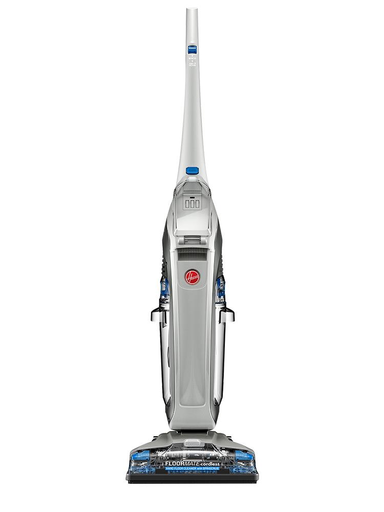 Hoover胡佛无线小型手推式家用洗地机自动吸尘器电动拖把拖地神器