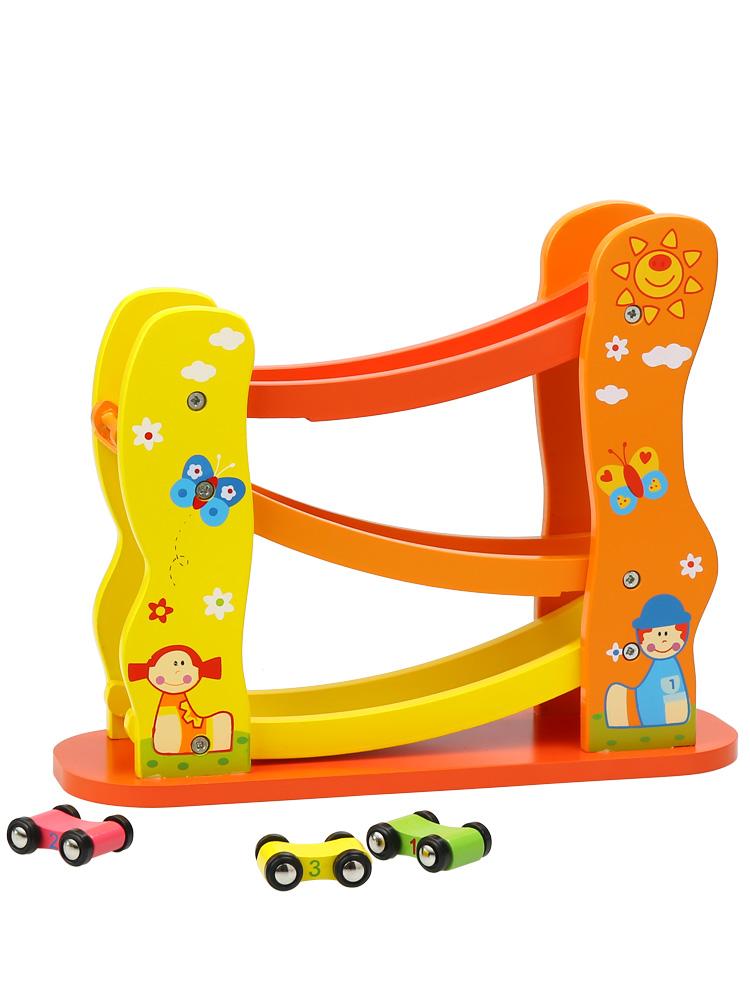 木制滑翔车滑滑车轨道车男孩女宝宝婴儿童玩具0-1-2-3周岁小朋友