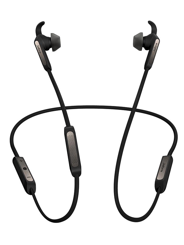 送礼 Jabra-捷波朗 Elite 45e悦逸5.0音乐蓝牙耳机双耳磁吸耳塞运动跑步防水防尘游泳耳机